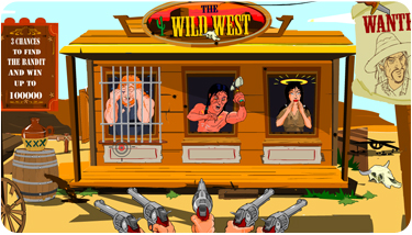 Wild West Rubbellos